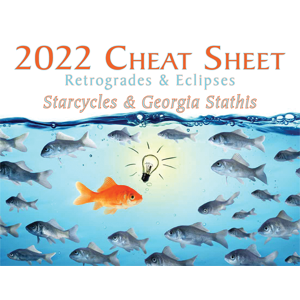 2022 Starcycles Cheat Sheet by Georgia Stathis