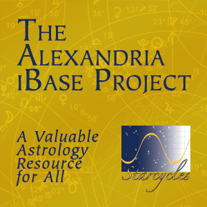 The Alexandria iBase Project, a valuable astrology resource for all