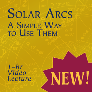 Solar Arcs: A Simple Way to Use Them, a video lecture by Georgia Stathis